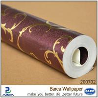 best sale waterproof washable wallpaper with bathroom