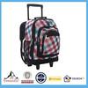 Custom oem design polyester wheeled backpack,trolley backpack BSCI manufacturer China