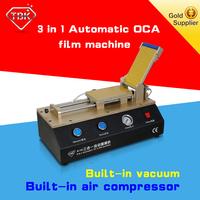 Automatic mobile phone oca laminating machine repair broken lcd screen manufacturer