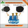 Chinese machine High technology Waste tires rubber recycling machine for Recycled rubber