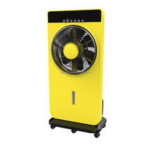 air ventilator fan with LED cheap price water spray fan in foshan guangdong factory