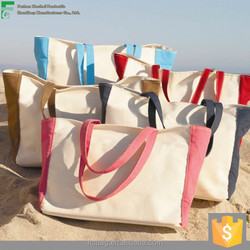 high quality customized shopping bag standard size cotton canvas tote bag