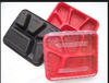 5-Compartments PP mini plastic Microwave food container packaging box