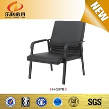 Comfortable conference chair barber and salon chairs prices reception chair with metal leg