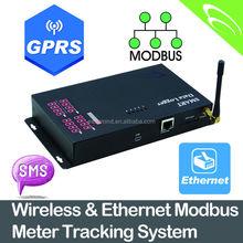 Wireless & Ethernet Modbus Meter Tracking System Data Logger