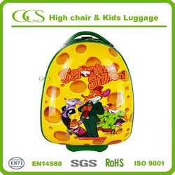 export 2 wheels luggage cartoon characters luggage