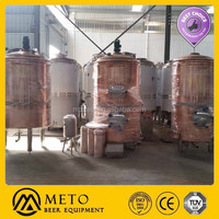 500 L beer equipment equipment luxury copper mash system turkey brewery micro craft beer equipment