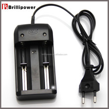 High cost performance 18650 battery charger universal li ion 18650 battery and charger