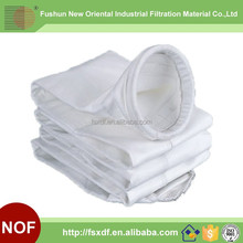 Alibaba express polyester filter bag for metallurgy of iron and steel sand handling
