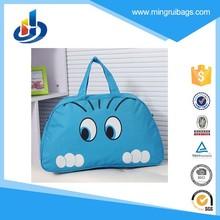 2015 New Women Handbag Women Lady Nylon Cat Print Travel Bags Luggage Duffle Sport Bags