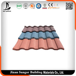 Ecological construction materials spanish metal roof tile
