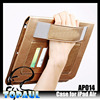 2014 New arrival luxury glossy stand flip leather wallet case for ipad air ipad5 with handheld