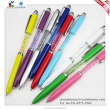 2015 New Design customized crystal ball pen with your own logo