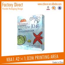 Custom logo printing 100% qulity ensure cheap price manufacturing recycle 3-ply carton box