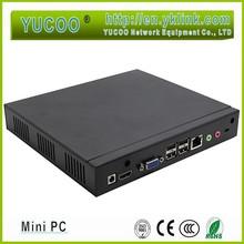 Super fan Hot selling mini PC with Intel Celeron 1037U dual core 1.8GHZ processor