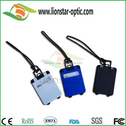 Parts of bag PVC/PU/leather durable luggage tags