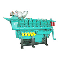 1500kW Ship Power Plant Marine Engine and Gearbox