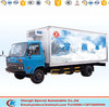 Top quality dongfeng refregrated van refrigerated truck box bodies