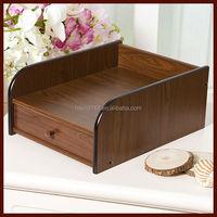 Fashionabel wooden file cabinet,wooden pencil box # HX-5022