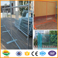 Hot sale low price galvanized Canada temporary fence (High quality and high security)