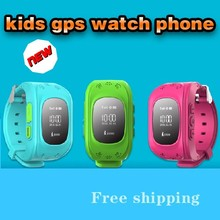 Multi-functional Position monitoring kid phone wrist watch with SOS for smartphone