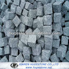 Granito cinzento pedra de pavimentação, granito cinza escuro cubo