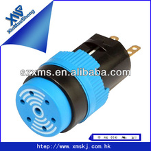 16mm LED lamp round electronic buzzer switches