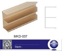 Wardrobe aluminum rail/Armoire aluminum rail/chest of drawers aluminum rail