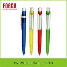Wholesale FORCA Promotional Cheap Plastic Pen Ball Pen /Cartoon Pen/ Plastic Ballpoint Pen