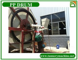 China leather soaking liming tanning dyeing plastic PVC drum supplier factory