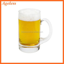 Hot sale high quality beer glass mugs/Classic beer glass/ beer glass steins with handle