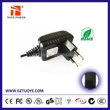 High efficiency 12v 830ma power adapter with UL/CUL KC GS CE SAA FCC approved