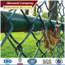 Hot Galvanized Chain Link Fence for sale
