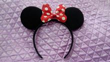 Bow Mouse Ear Headband kid Hair ornaments