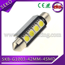 42mm 12v led car ceiling lamp light dome
