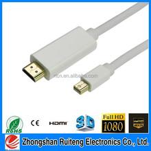 mini displayport female to hdmi male adapter Mini DP Male To HDMI Male
