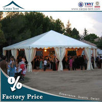 fashion giant elegant different size glass wall tent structures for outdoor party