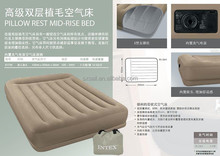 intex inflatable pillow rest mid-rise bed