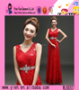2015 Night Gown Evening Prom Dress Party Dress Fashion Big Size Sexy V Collar Wholesale Italian Evening Dress