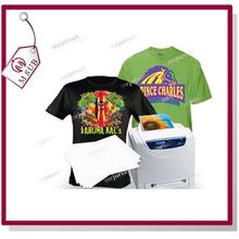 A3 Size Dark Soft Stretch Inkjet Heat Transfer Paper /Inkjet Transfer Paper for pure cotton T-shirt/fabric
