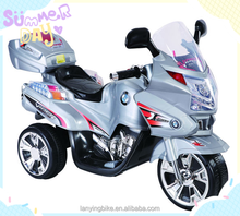 Easy assembled kids electric motorcycle, 3 wheel motorcycle for baby, child motorcycle