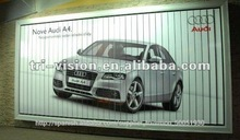 Tamaño medio tri-visión material de aluminio Cartelera al aire libre pequeña