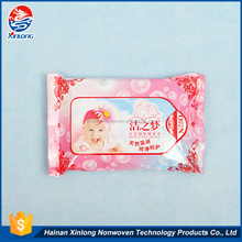 Hot sale fashion no alcohol or harmful chemicals spunlace nonwoven fabric for wet baby care wipes