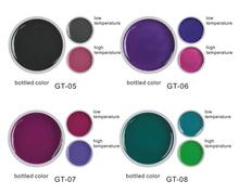 Alibaba venta al por mayor empapa cambiar color uv gel para uñas de moda caliente del verano