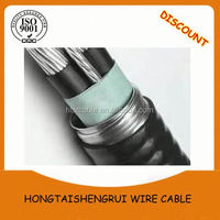 Factory Wholesale 15kv 3x240mm type of high voltage cable price per meter