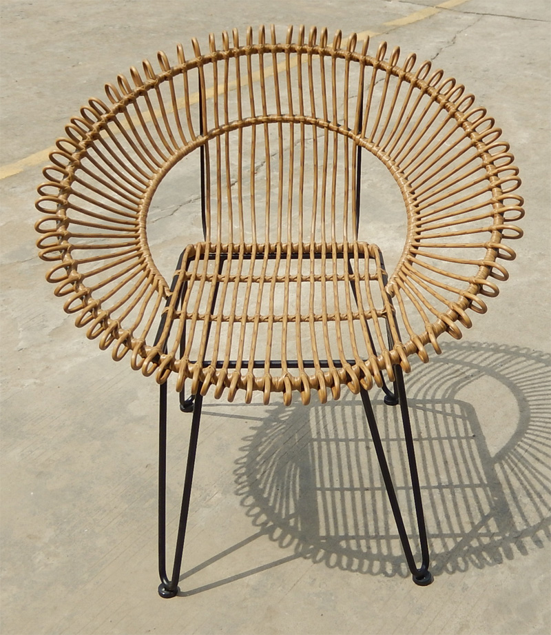 steel pe wicker shell chair buy shell chair circle chair