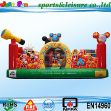 2015 kids playground houses, giant inflatable city, big inflatable combo for sale