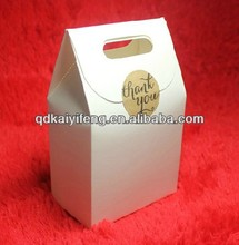 high quality white cardboard bread box