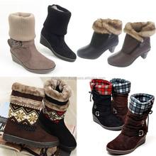 2sbg09 STOCK LOT sale woman winter boots Made in korea MOQ 100 prs