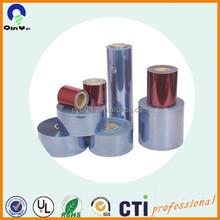 Plastics products 6.5mm thickness pvc rigid transparent sheet
